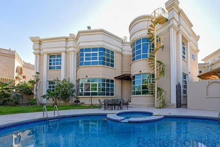 7 Bedroom Villa for Sale in Al Barsha, Dubai - Beautiful villa |Exotic garden|Near coop |pool|