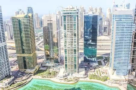 Office for Rent in Jumeirah Lake Towers (JLT), Dubai - SPACIOUS UNFURNISHED OFC unit in CONCORDE TOWER