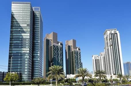 2 Bedroom Apartment for Sale in Al Reem Island, Abu Dhabi - Amazing sea view w/ balcony - Marina Heights