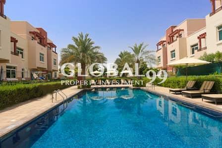 2 Bedroom Apartment for Rent in Al Ghadeer, Abu Dhabi - TERRACED - 2BR Apt in Waterfall Community for Rent