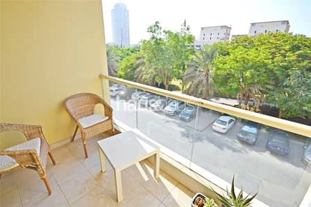 1 Bedroom Flat for Rent in The Greens, Dubai - Vacant | Street 3 | Very Well Maintained |