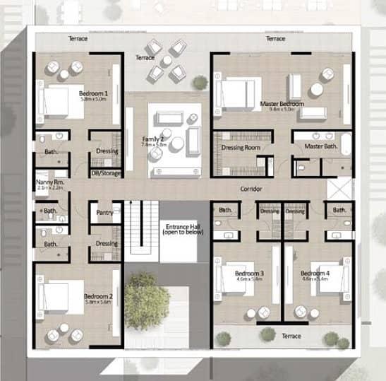10 New in! 6BR Full Corner Plot Modern Villa