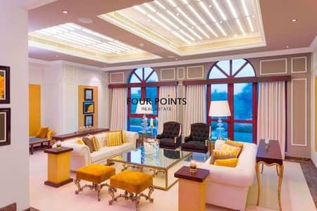 فیلا 4 غرفة نوم للبيع في جميرا جولف إستيت، دبي - Highly Upgraded Furnished 4BR+Maids Room  Independent Villa in Orang Lake