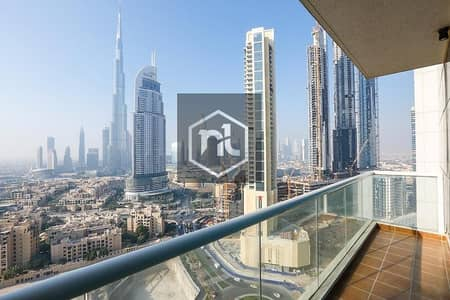 2 Bedroom Apartment for Rent in Downtown Dubai, Dubai - 2BR-Burj Al Nujoom