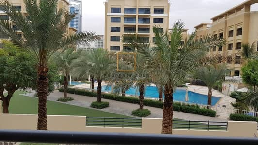 3 Bedroom Apartment for Rent in The Greens, Dubai - Upgraded 3 BR + Study I Pool View I Vacant
