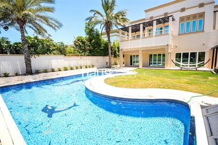 7 Bedroom Villa for Rent in Emirates Hills, Dubai - Freshly renovated | Golf views | Vacant