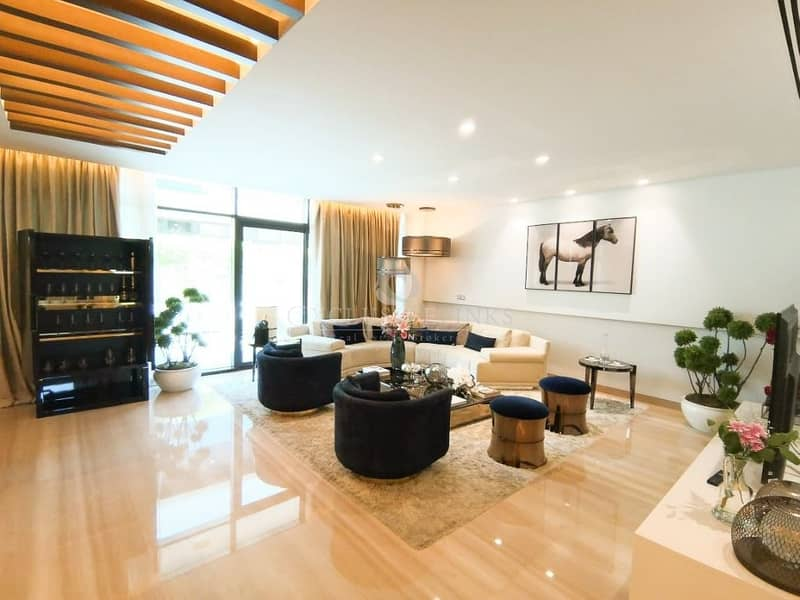 Unique Fendi Styled Villa 3BR + Maids room