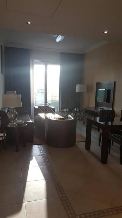 Chiller free fully furnished 2 bedroom apt with close kitchen balcony 75k 4 cheqs