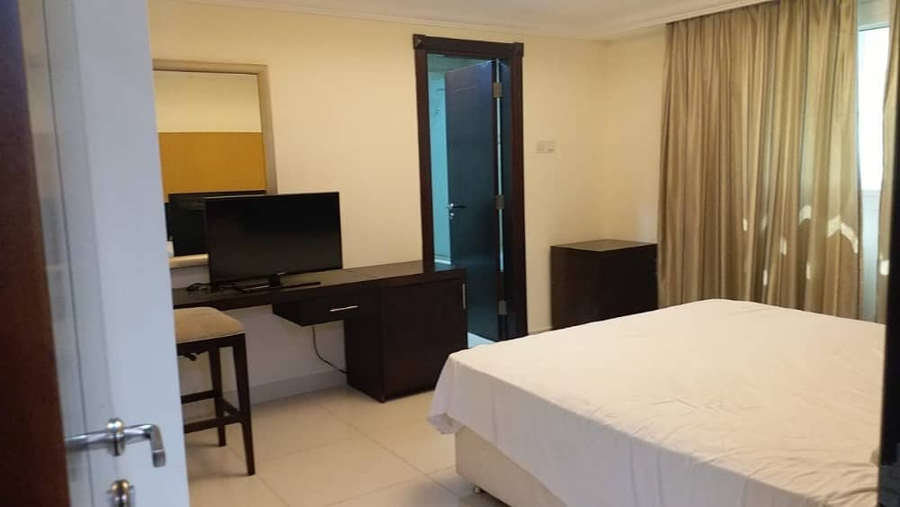 14 CHEAP PRICE 54K FURNISHED 1 BEDROOM APARTMENT IN AL-BARSHA