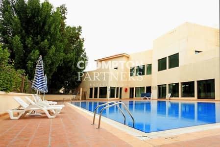 4 Bedroom Villa for Rent in Al Qurm, Abu Dhabi - Elegant Villa with a Small Lovely Garden