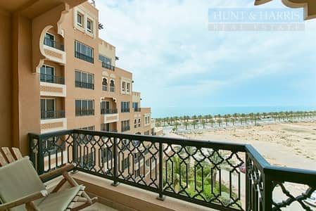 1 Bedroom Flat for Rent in Al Marjan Island, Ras Al Khaimah - Live by the beach - Bab Al Bahr - Fully furnished