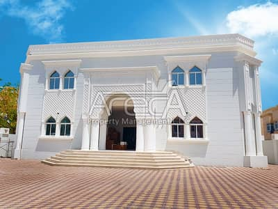 8 Bedroom Villa for Rent in Khalifa City A, Abu Dhabi - Excellent Brand New 8Master BR family villa With Private Entrance In Khallifa City A