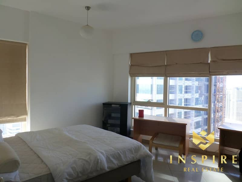 24 2BR + Maids | High Floor | Community View