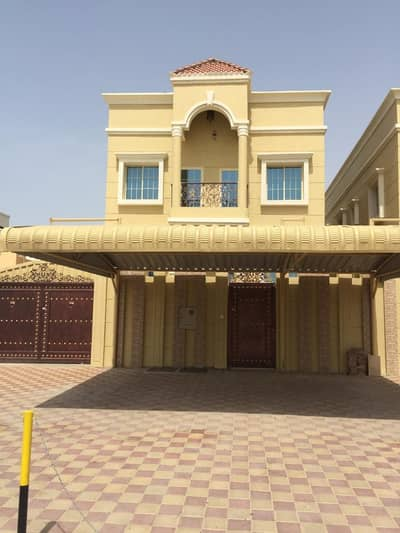 5 Bedroom Villa for Sale in Al Mowaihat, Ajman - New villa with a large area of personal finishing at a very attractive price