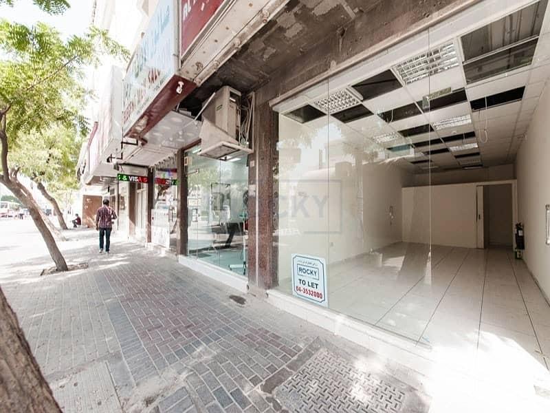 16 Spacious 350 Sq.Ft Shop | Al Karama