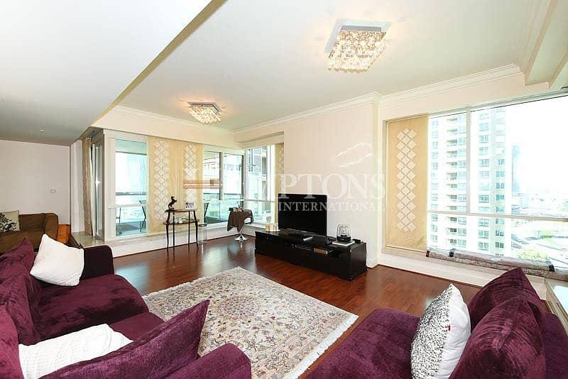 3BR | Mid Floor | Upgraded | Marina View