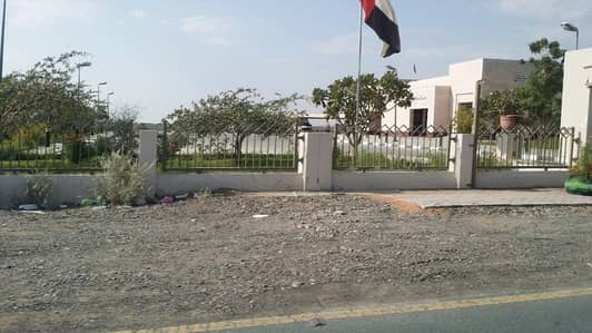 Plot for Sale in Al Manama, Ajman - exclusive !! commercial land on main road only 280k in al manama area