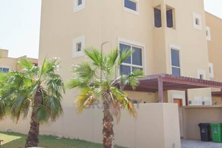 4 Bedroom Townhouse for Rent in Al Raha Gardens, Abu Dhabi - Move in Ready! Classy 4BR TH w/ private garden