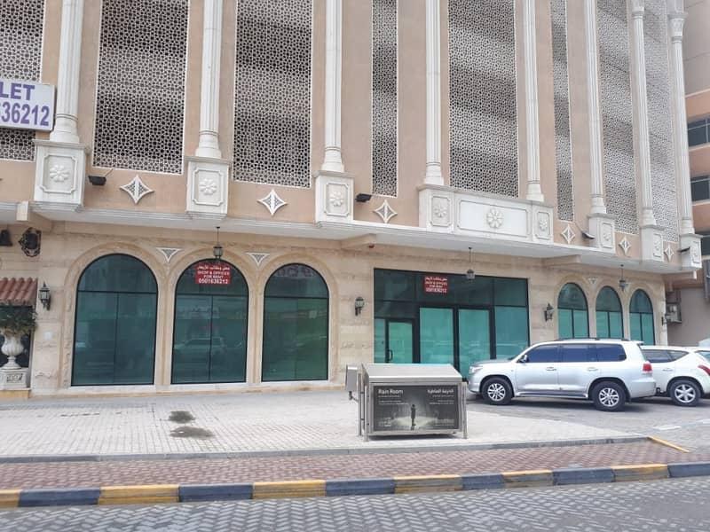 محل للإيجار بموقع متمييز بشارع التعاون الرئيسي