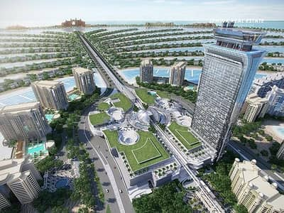 Studio for Sale in Palm Jumeirah, Dubai - Reduced Price  | Middle Floor | Dubai Skyline View