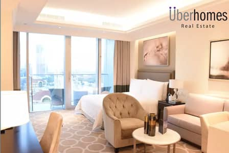 Studio for Rent in Downtown Dubai, Dubai - Bills Included | Fully Furnished Studio