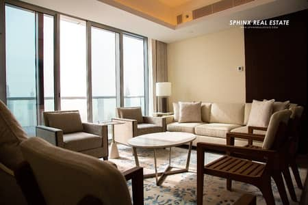 2 Bedroom Flat for Rent in Downtown Dubai, Dubai - VVIP 2 BR apartment platinum level at Address Hote