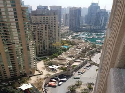 1 Bedroom Apartment for Rent in Dubai Marina, Dubai - Golf Course View & Fully Furnished 1 Bed