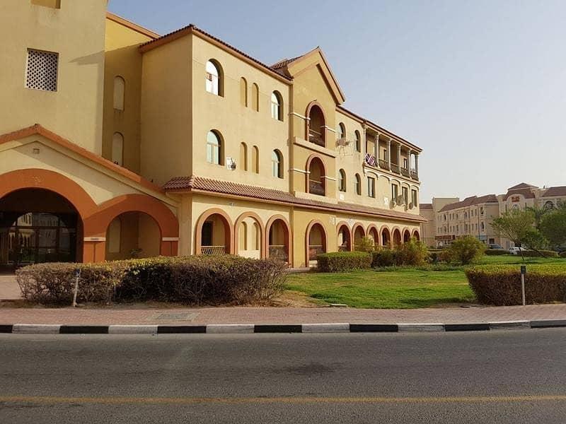 Studio apartment for rent in Spain Cluster S22 International city Dubai