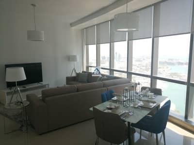 شقة 1 غرفة نوم للايجار في شارع الكورنيش، أبوظبي - No Fees Service 1 Bedroom Etihad Towers