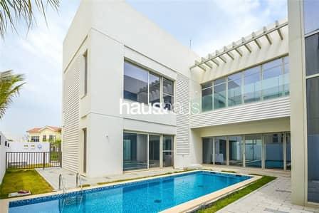 5 Bedroom Villa for Rent in Mohammad Bin Rashid City, Dubai - Landscaped | Stunning Position | Corner Plot | WOW