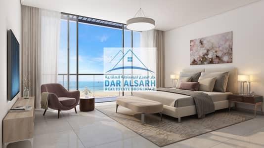 فیلا 4 غرفة نوم للبيع في المنطقة الحرة - الحمرية، الشارقة - Own your apartment on the sea directly monthly installments