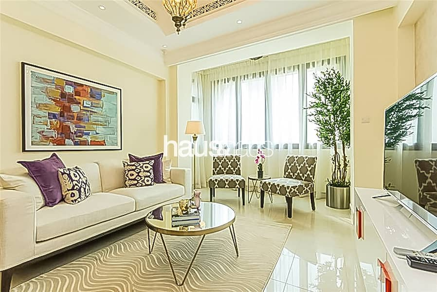 2 Amazing views | Fully furnished | Chiller free