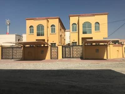 5 Bedroom Villa for Sale in Al Rawda, Ajman - For sale Villa corner two streets opposite a mosque finishing Super Deluxe close to all services