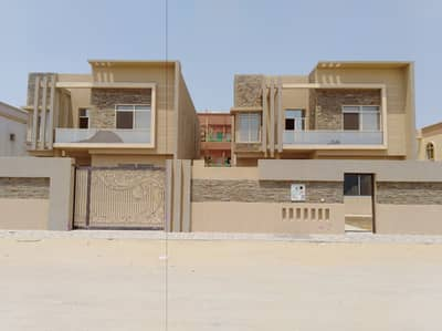 5 Bedroom Villa for Sale in Al Zahraa, Ajman - For VIP and VIP finishes, very luxurious villa close to all services