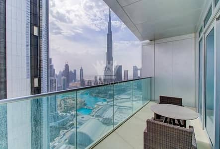 2 Bedroom Flat for Rent in Downtown Dubai, Dubai - Fully Furnished 2 BR -  Address Fountain View