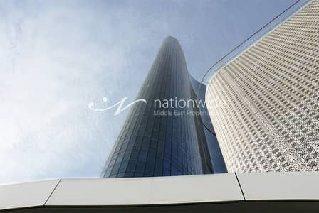 1 Bedroom Flat for Rent in Al Reem Island, Abu Dhabi - Newly Listed 1 BR Apartment w/ Maid Room