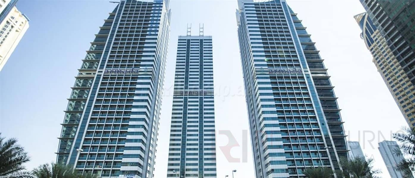1 1 BR Apt with Lake View in Armada Tower [FA]
