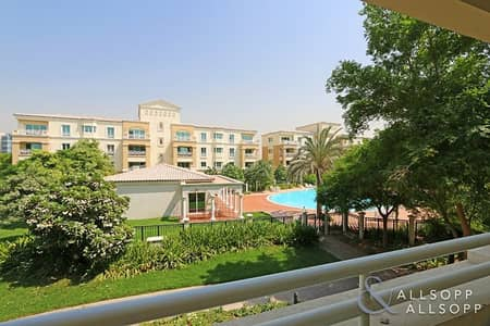 1 Bedroom Flat for Rent in Green Community, Dubai - Property Managed | Northwest | Garden View