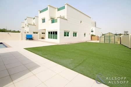 4 Bedroom Villa for Sale in Jumeirah Village Circle (JVC), Dubai - Huge Corner Plot | 4BR | Independent Villa