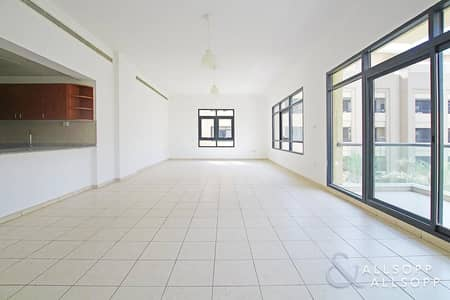 3 Bedroom Apartment for Sale in The Greens, Dubai - Garden View | Study | Vacant On Transfer