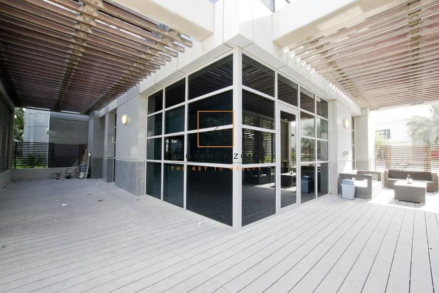 14 Furnished / Upgraded 4 BR Garden Duplex