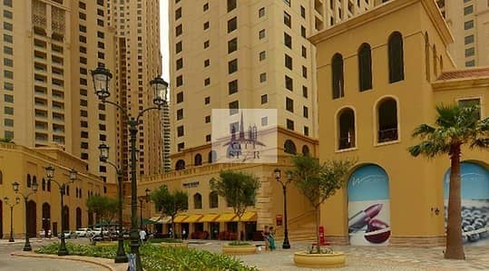2 Bedroom Apartment for Rent in Jumeirah Beach Residence (JBR), Dubai - 2 BR furnished with a storage room in Rimal 1