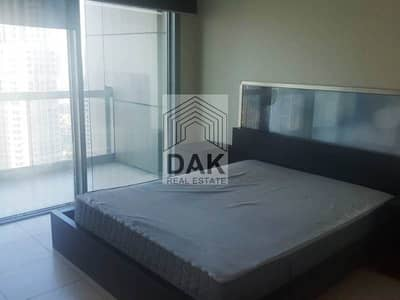 2 Bedroom Apartment for Rent in Downtown Dubai, Dubai - Partial Fountain View | Semi Furnished | Huge Balcony