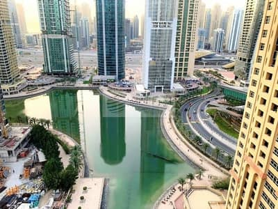 1 Bedroom Apartment for Sale in Jumeirah Lake Towers (JLT), Dubai - NO AGENTS | Vacant 1 Bedroom | Lake View