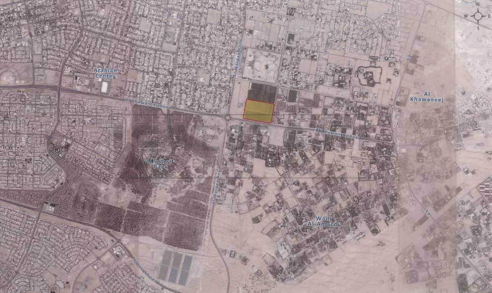 Residential Plot in Al Khawaneej Behind the Last Exit