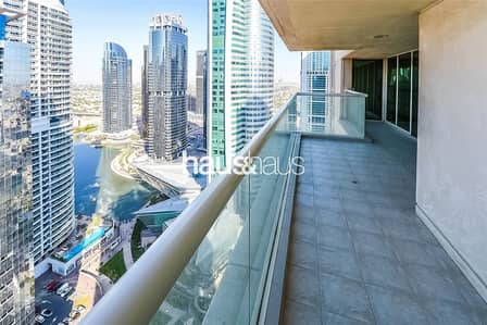 3 Bedroom Apartment for Rent in Jumeirah Lake Towers (JLT), Dubai - Palladium | Upgraded Kitchen | Maids Room