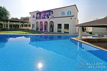 فیلا 5 غرفة نوم للايجار في موتور سيتي، دبي - Large Plot with Private Pool | 5 Bedrooms