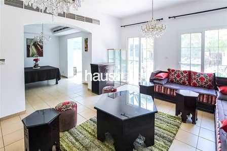 3 Bedroom Villa for Rent in Arabian Ranches, Dubai - Park Backing | Extended | Upgraded Kitchen