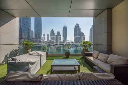 فلیٹ 3 غرفة نوم للبيع في دبي مارينا، دبي - 2702 Sqft BUA | 3 Bedroom | Marina View