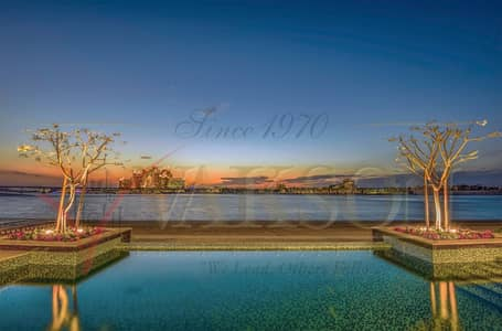 6 Bedroom Villa for Sale in Palm Jumeirah, Dubai - 6 Bedroom Signature Villa @ Tip Plot - Frond G Palm Jumeirah with Full Sea and Atlantis View